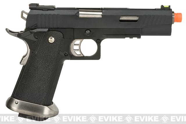 WE-Tech Hi-Capa 5.1 T-Rex Competition Pistol - Black