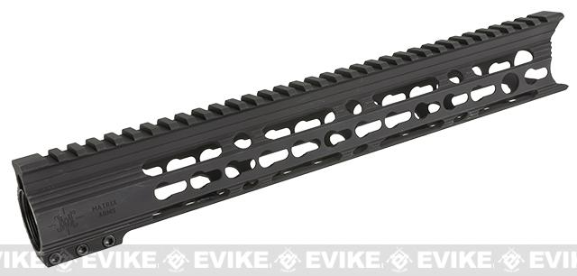 Matrix Arms 13 5.56 Charlie Keymod Free Float Hand Guard for AR15 / M4 / M16 Rifles - Black