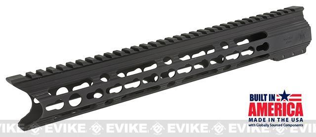 Matrix Arms 13 5.56 Charlie Keymod Free Float Hand Guard for AR15 / M4 / M16 Rifles - Black