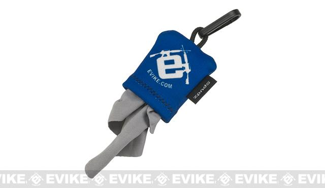 Evike SPUDZ Micro-Fiber Eyewear and Optics Cleaning Keychain
