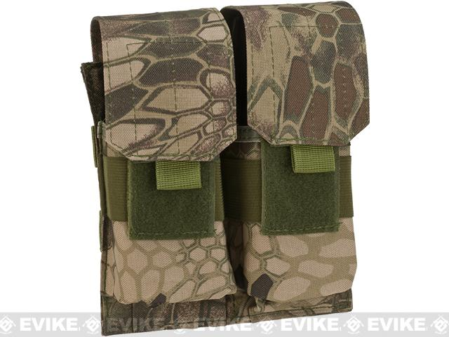 Matrix MOLLE Double M4/M16 Magazine Pouch - Arid Serpent