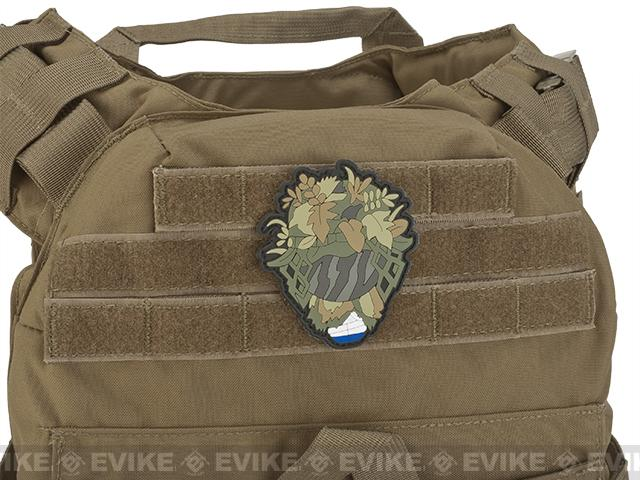 Aprilla Design PVC IFF Hook & Loop Patch - Ghillie