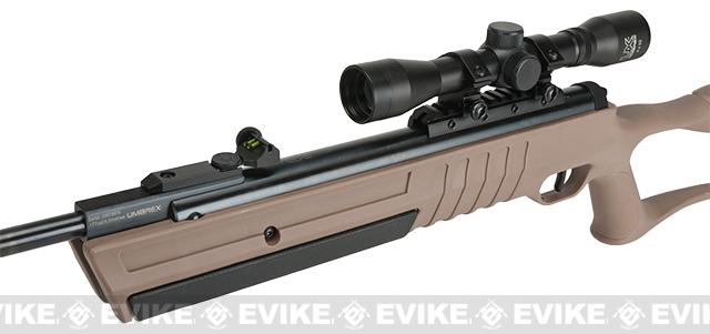 Umarex Torq .177 Cal Break Barrel Air Rifle - Dark Earth Brown (.177 cal AIRGUN NOT AIRSOFT)