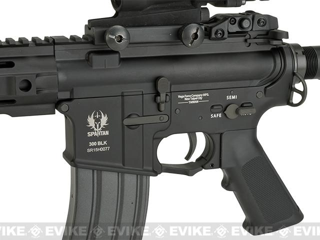 VFC 13 Spartan SRX 309 Full Metal Airsoft AEG Rifle - Black