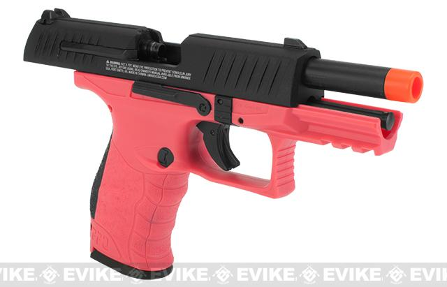 Walther PPQ GBB Tac Airsoft GBB Pistol by Umarex Elite Force - Wildberry