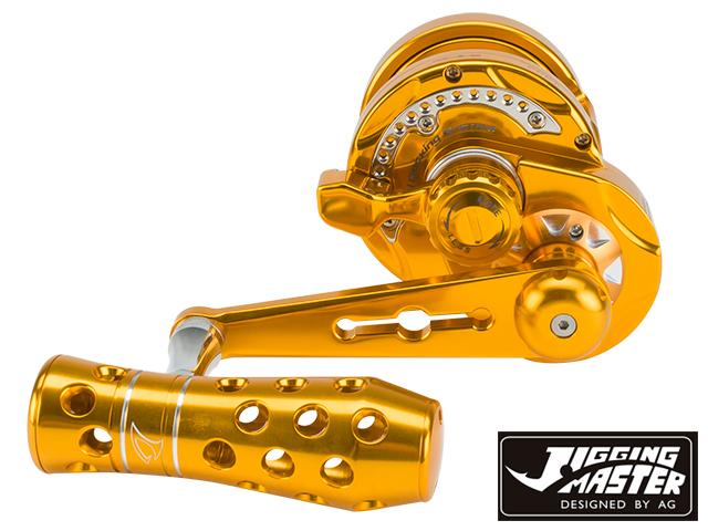 Jigging Master Monster Game High Speed Fishing Reel - Gold (Size: PE3)