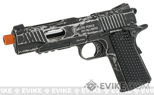 Elite Force Limited Edition 1911 Tactical CO2 Airsoft Gas Blowback Pistol by Umarex KWC