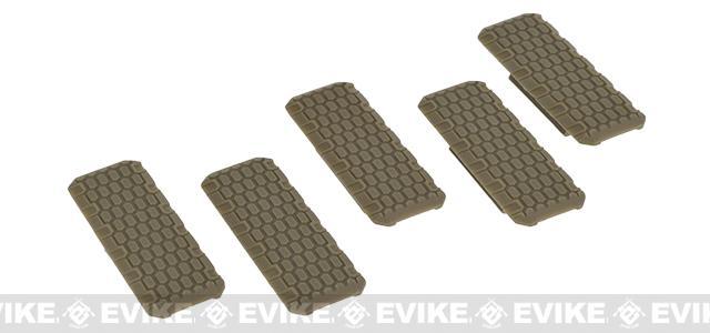 Strike Industries M-LOK Rail Covers V2 - Brown