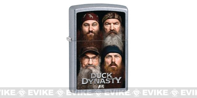 Zippo Classic Lighter - Duck Dynasty (Brushed Chrome)