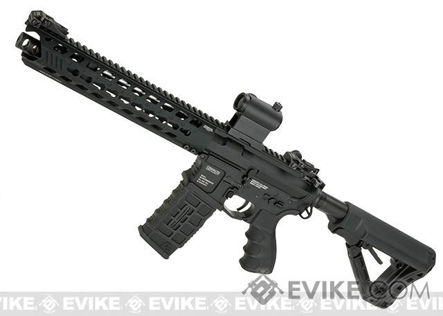 G&G GC16 Predator Full Metal Airsoft AEG Rifle with Keymod Rail - Black (Package: Gun Only)