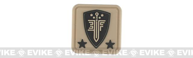 Elite Force PVC Helmet Patch - Tan