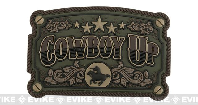 Mil-Spec Monkey Cowboy Up PVC Morale Patch - Forest