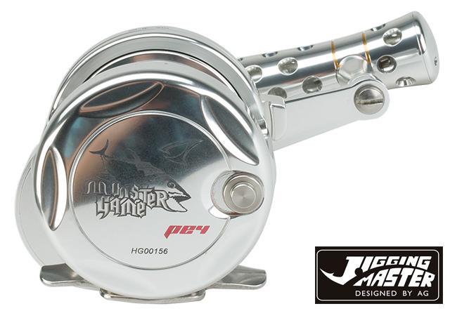 Jigging Master Monster Game High Speed Fishing Reel - Silver (Size: PE4)