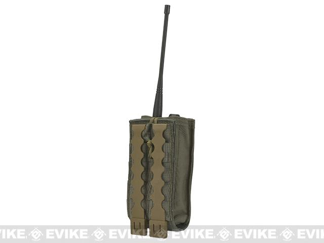 MilSim West Baofeng Radio Pouch by Tactical Tailor - Ranger Green
