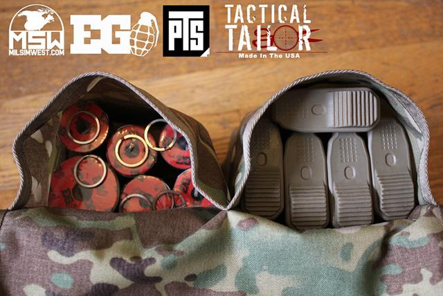 z MilSim West Claymore Bag by Tactical Tailor - Ranger Green