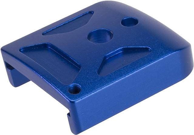 5KU Type-1  Aluminum Magazine Base for 5.1 Hi-Capa Series Airsoft GBB Pistol Magazines -  Blue