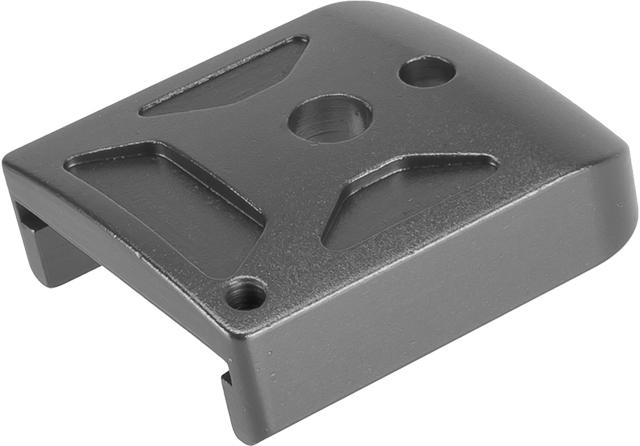 5KU Type-1  Aluminum Magazine Base for 5.1 Hi-Capa Series Airsoft GBB Pistol Magazines -  Titanium