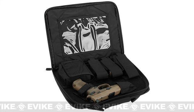 Azimuth Gun Case for FNX-45 Tactical Gas BlowBack Pistol  - Black