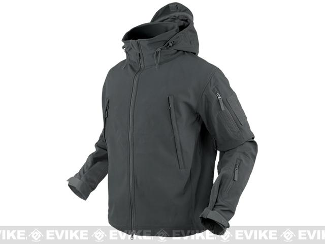 Condor Summit Tactical Softshell Jacket - Graphite (Size: Small)