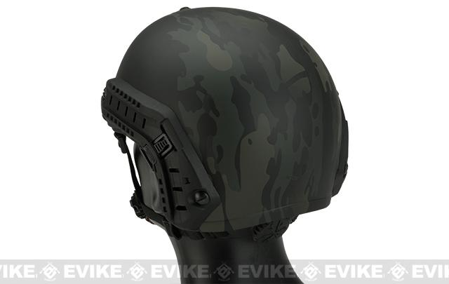 FMA  Bump Type Tactical Airsoft Helmet MICH Style - Multicam Black