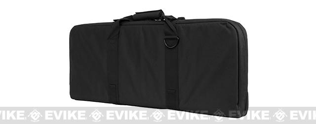 NcStar / VISM 28 Deluxe Dual Compartment Subgun / SBR Padded Carrying Bag / Case - Black