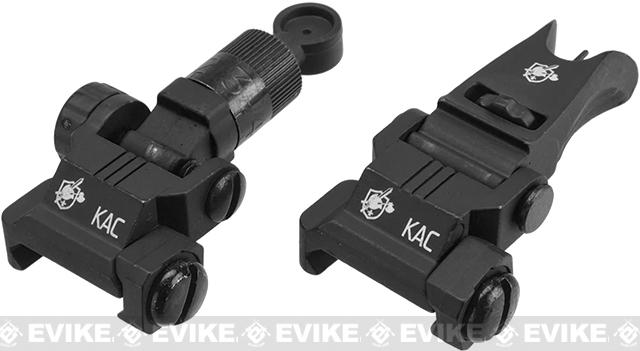 Knights Armament KAA Micro Back-up Iron Sights - Black