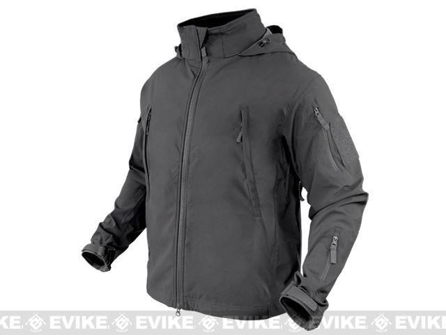 Condor Summit Zero Lightweight Soft Shell Jacket - Graphite (Size: Large)