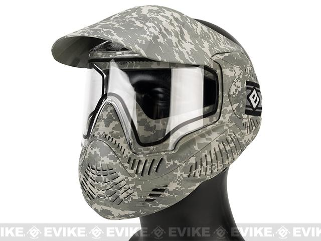 z Annex MI-7 ANSI Rated Full Face Mask with Thermal Lens by Valken (Color: ACU)