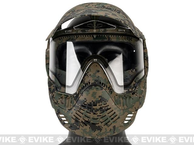Annex MI-7 ANSI Rated Full Face Mask with Thermal Lens by Valken - MARPAT
