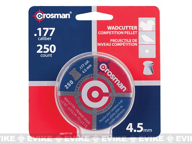 Crosman .177 7.4gr Wadcutter Pellets (FOR AIRGUN USE ONLY)