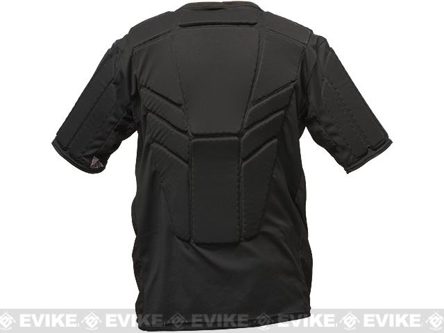 Valken Impact Shirt Upper Body Pads - Black (Size: Large/X-Large)