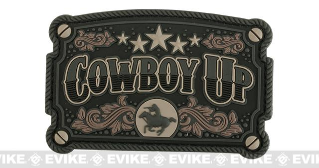 Mil-Spec Monkey Cowboy Up PVC Morale Patch - Urban