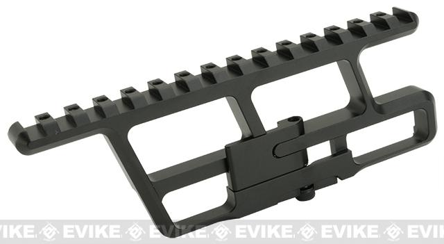 Asura Dynamics Lower Rail Optic Mount for AK series Airsoft Rifles