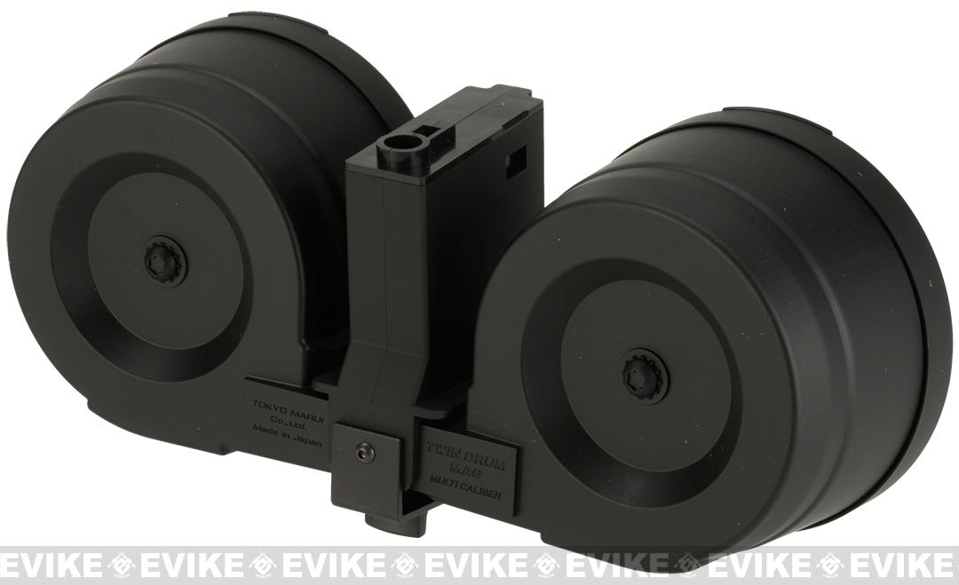 z Tokyo Marui 1200 Round Twin Drum Magazine for M4 Series Airsoft AEGs