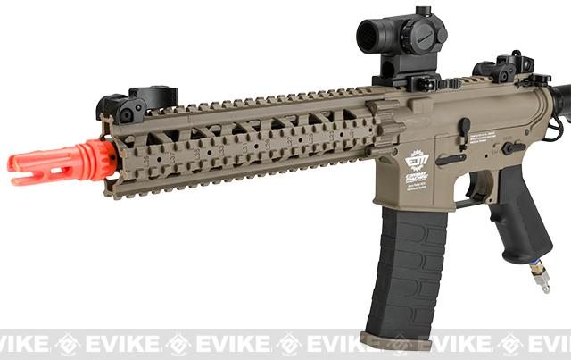z Valken Tactical V12 G&G MK18 MOD1 Electro-Pneumatic Airsoft Rifle - Tan