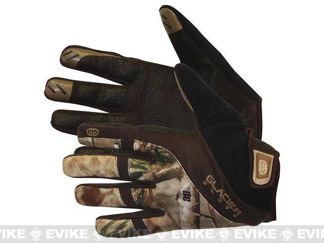 Glacier Gloves RealTree AP Lightweight Field Glove (Size: Medium)