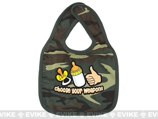 Rothco Infant Bib - Choose Your Weapon