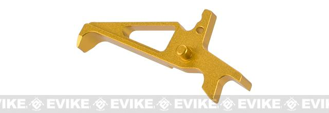 Color Scheme CNC Aluminum Trigger for M4 / M16 Series Airsoft AEG Rifles - Gold