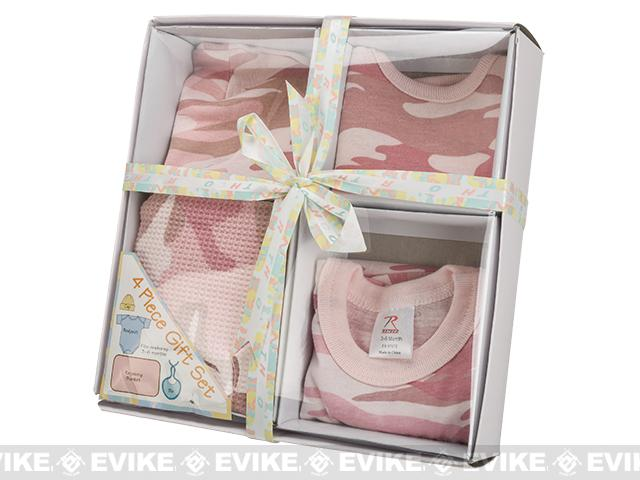 Rothco Infant 4 Piece Boxed Gift Set - Pink