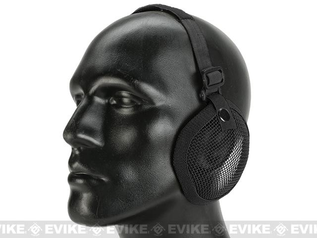 z Valken Tactical 3G Wire Mesh Ear Protector - Black