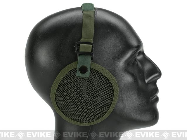 Valken Tactical 3G Wire Mesh Ear Protector - OD Green