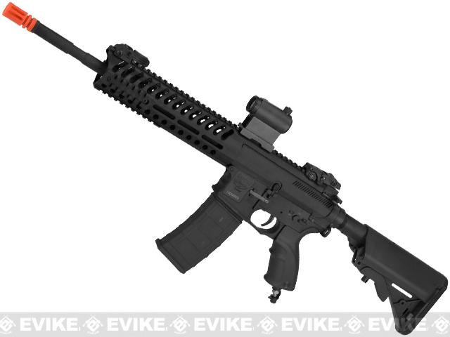 V12 Tactical M4 Optima BLOCK-II DST Electro-Pneumatic Airsoft Rifle by Valken - Black