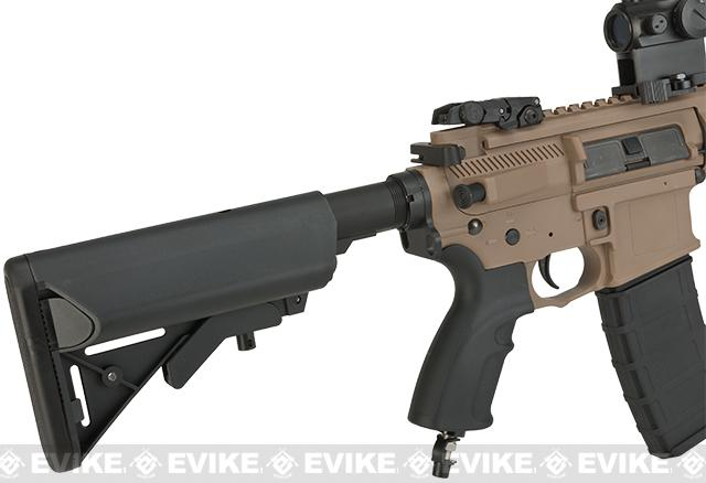 V12 Tactical M4 Optima BLOCK-II DST Electro-Pneumatic Airsoft Rifle by Valken - Tan