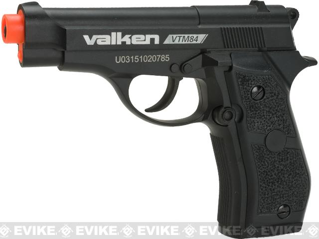 Valken V Tactical M84 CO2 Powered Semi-Auto Airsoft Pistol
