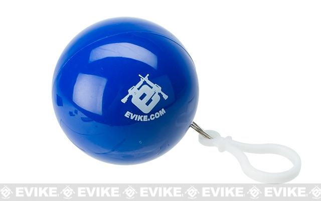 Evike.com Rain Poncho-To-Go Ball Key Chain - Blue