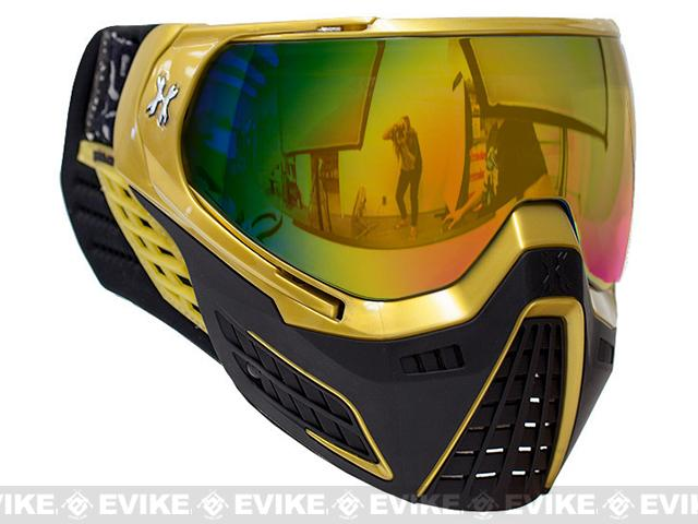 HK Army KLR Full Seal Airsoft/Paintball Mask (Color: Metallic Gold)