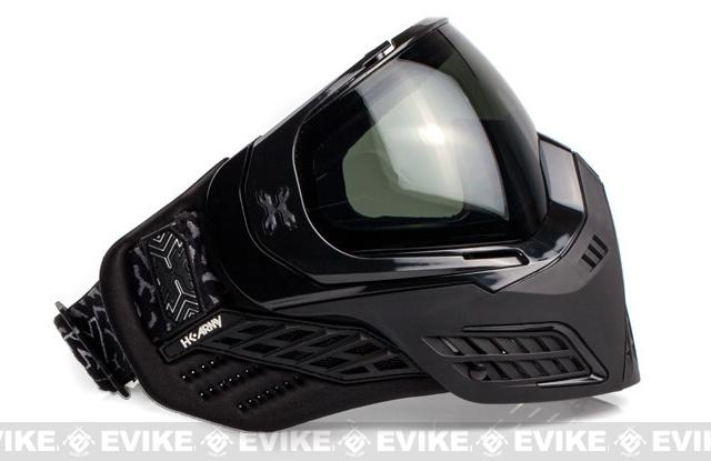 HK Army KLR Full Seal Airsoft/Paintball Mask - Onyx