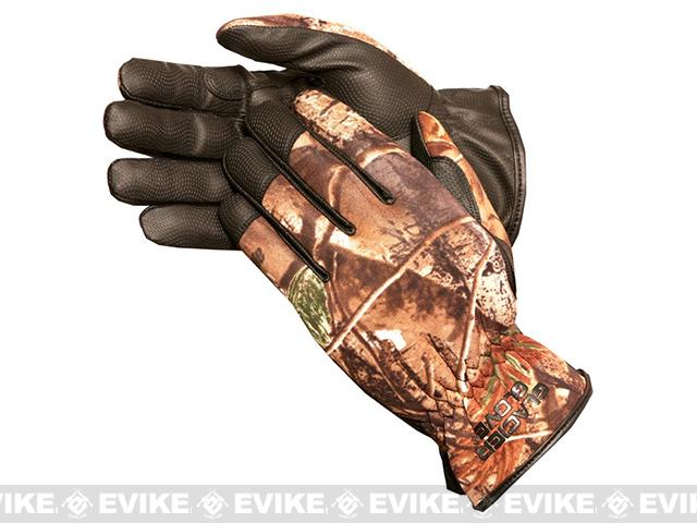 Glacier Gloves 782RT Lightweight Pro-Hunter Gloves - Realtree (Size: Large)
