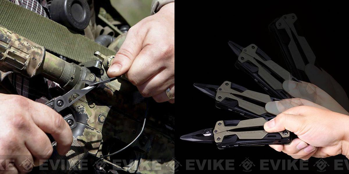 Leatherman OHT One Handed Multi-Tool with MOLLE Sheath - Tan