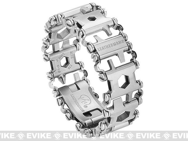 Leatherman Tread Travel Friendly Multi-Tool Bracelet - Stainless